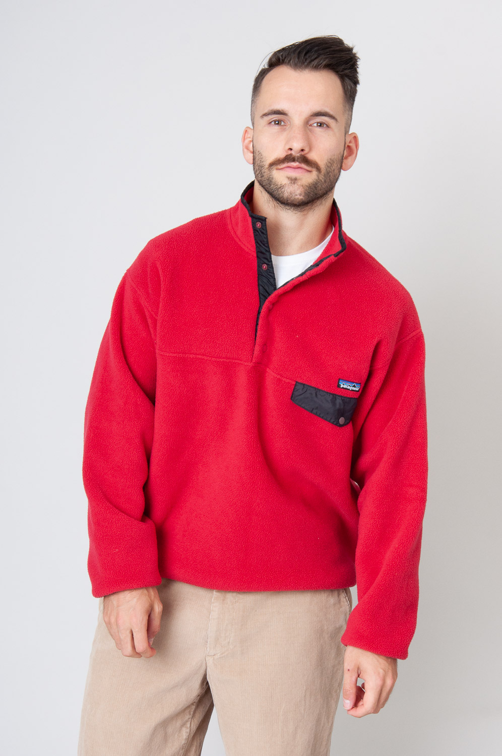 90s Patagonia Synchilla Snap-T Fleece-Pullover