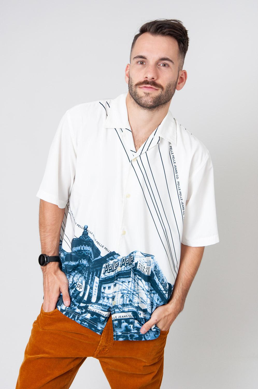 Pelle Jeans Kurzarmhemd