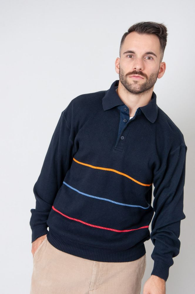 Stripes In Colour Strickpullover 2
