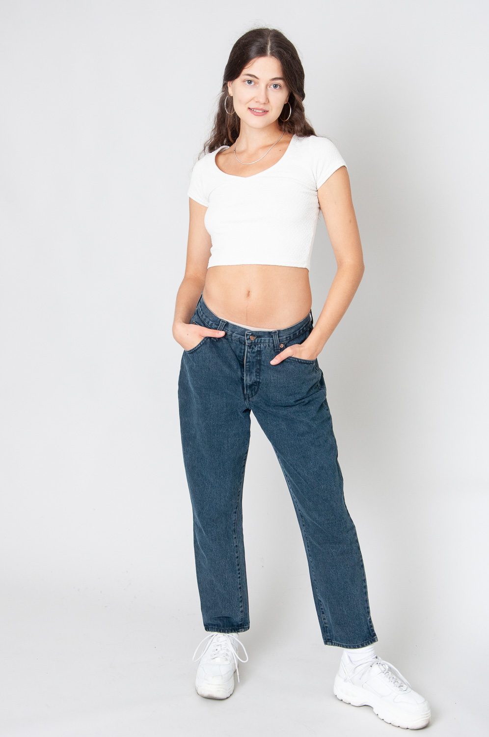 Valentino Mom Jeans Mid To Low Waist