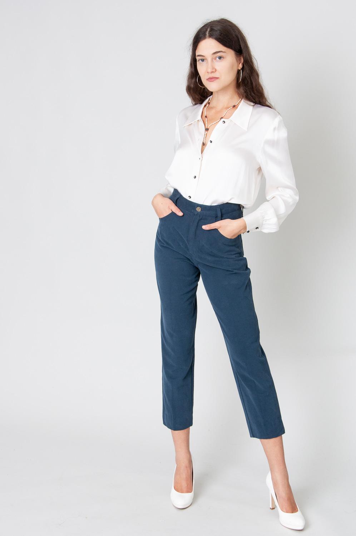 Velvet Touch Mom Jeans High Waist