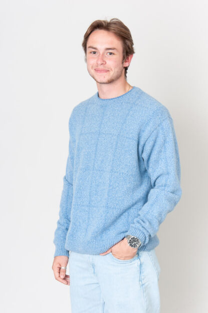 Blue Clouds Pullover