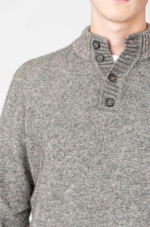 Noble Wilde Button Collar Strickpullover 5