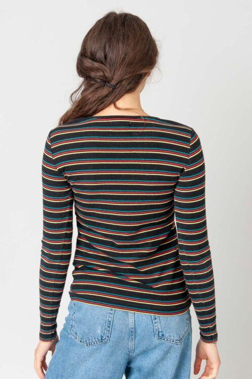 Stripes Rippstrick Top 4