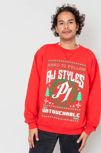 AJ Styles Weihnachtspulli