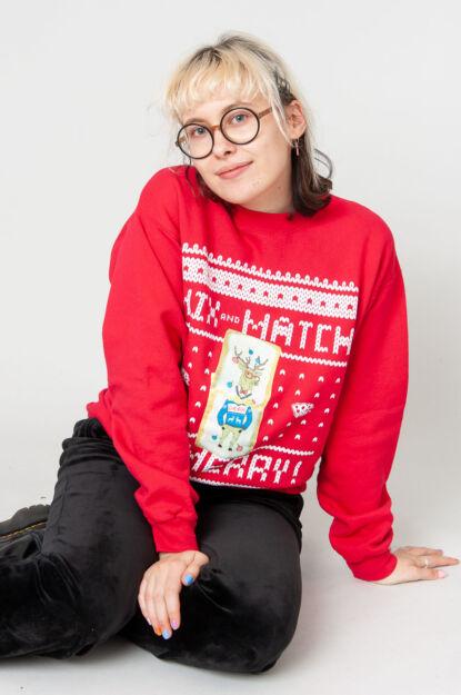 Be Merry Weihnachtspulli