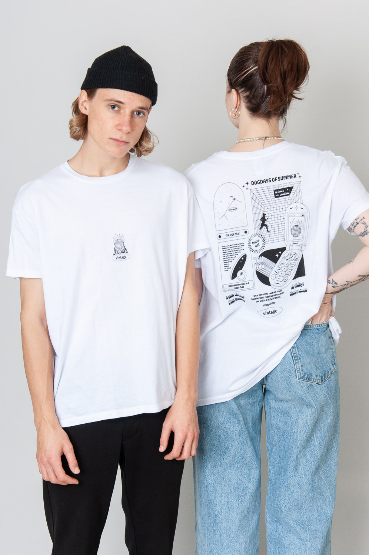 Deadstock T-Shirt Burning Planet