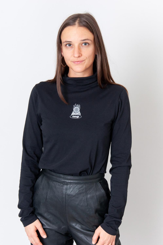 Vintage Longshirt Burning Planet