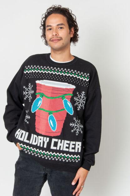 Holiday Cheers Weihnachtspulli