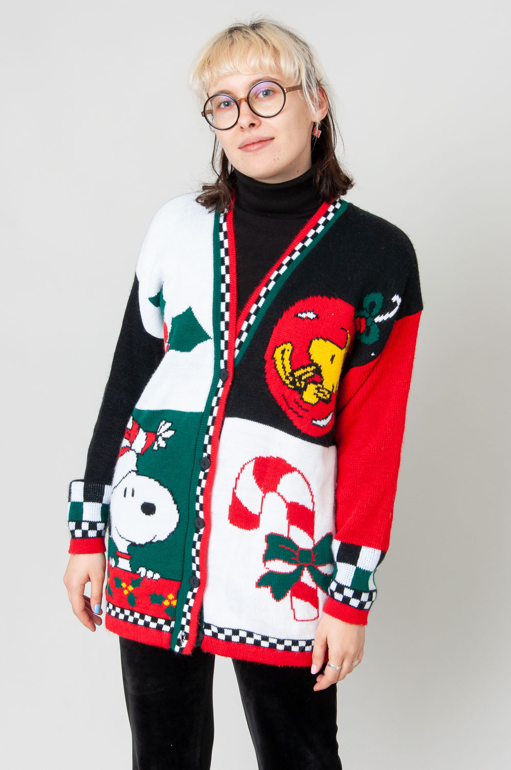 Snoopy Weihnachts Cardigan